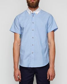 Classic short-sleeved cotton oxford from General Assembly
