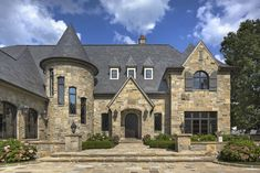 European Manor Lake House - VanBrouck & Associates Old World Style, French Country Decorating, Exterior, Mansions, Architecture, House Styles, Michigan, Homes, Ideas