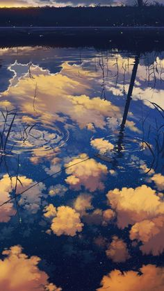 Image discovered by PerfectEnemy. Find images and videos about art, anime and sky on We Heart It - the app to get lost in what you love. Fantasy Landscape, Landscape Art, Fantasy Art, Japanese Landscape, Art Anime, Anime Artwork, Manga Anime, Anime Scenery, Pretty Art