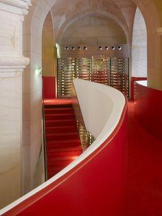 Phantom – Restaurant of the Garnier Opera by Odile Decq & Benoît Cornette, Paris restaurant