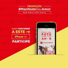 Versão MOBILE já disponível. Participe! :)  http://concurso.forboys.com.br/