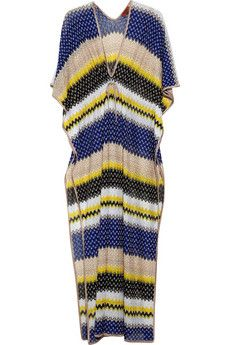 Missoni maxi kaftan - perfect for a nice summer day...