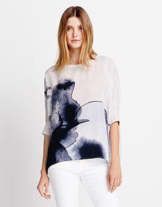 Shirtbluse grau online kaufen   Zenobia flawless ash von someday Fashion