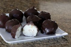 Chocolate-Coated Martha Washington Coconut Candy [Been making these for years at Eastertime and never knew that they had a name! ]