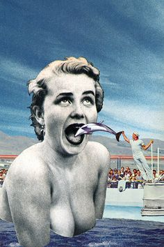 """""""Cetus Zoo"""" by Eugenia Loli I'm against any type of """"zoo"""", especially when it involves intelligent animals from the Cetacea family. Printable up to 12""""x18"""". Follow the artist: TumblR 