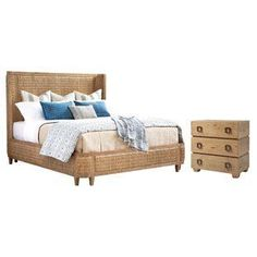 Discover the best coastal bedroom furniture sets, which includes matching coastal beds, beach dressers, coastal headboards, beach nightstands, and more. Hooker Furniture, Bedroom Furniture Sets, Bedroom Themes, Bed Furniture, Bedroom Ideas, Coastal Furniture, Bedroom Inspiration, Tommy Bahama, Luxury Bedroom Sets