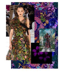 The Patternbank team travelled to Paris this September to absorb and experience Première Vision's Autumn/Winter show. Along with thousands of Première Vision, Ethnic Print, Winter Trends, Fashion Show, Fashion Design, Color Trends, Textile Design, Fashion Prints, Print Patterns