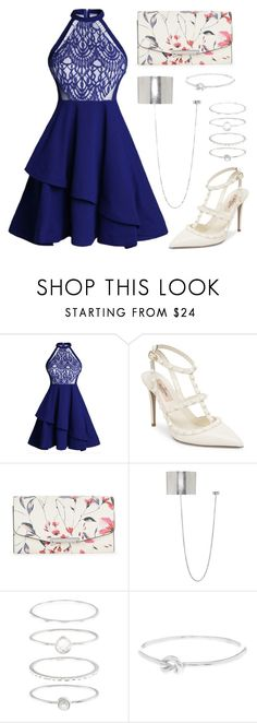 """""""Midnight Memories"""" by staysaneinsideinsanity ❤ liked on Polyvore featuring Valentino, Ivanka Trump, Ann Demeulemeester, Accessorize and Argento Vivo"""