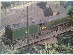 Diesel Locomotive, Steam Locomotive, Steam Trains Uk, Steam Railway, British Rail, Steam Engine, East Coast, City Photo, The Past
