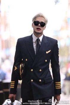 jackson as a cool pilot