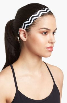 Not only do I love the chevron, these are by far the BEST head bands ever!  Totally stays in place, does not move!