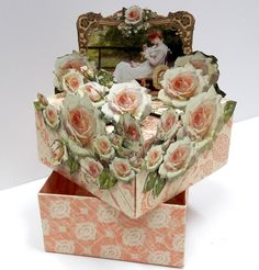Roses Treasure Box  Portrait of a Lady  by Einat Kessler  product Graphic 45  photo 3