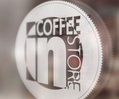 Logo Efecto Cristal Coffee Store, Lululemon Logo, Best Logos, Design Logos, Crystals, Coffee Shops
