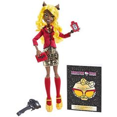 Monster High Frights Camera Action Hauntlywood Clawdia Wolf Doll - Walmart.com