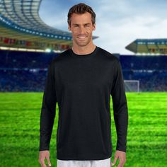 2d6cce2c5bcf1 New Balance-Mens Ndurance Athletic Long-Sleeve T-Shirt-N7119 New Balance