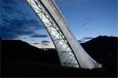 New Olympic Ski Jump in Garmisch-Partenkirchen / terrain: loenhart  from: http://www.archdaily.com
