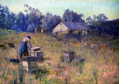 An Old Bee Farm by Clara Southern