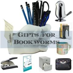 Gifts for bookworms and writers