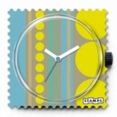S.T.A.M.P.S. Watch Face Retro Wall