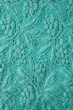 Turquoise Turquoise Turquoise!