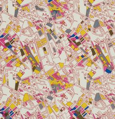 Center City Collection  Jay McCarroll  Los by StashModernFabric, $4.50