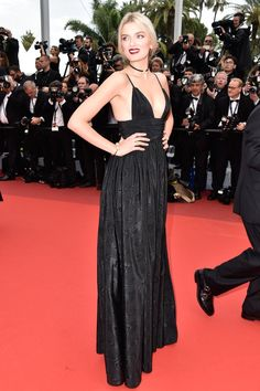 Pin for Later: Seht all' die traumhaften Roben beim Filmfest in Cannes Tag 1: Lily Donaldson