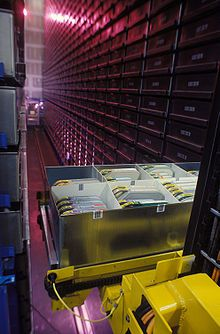 Automated storage and retrieval system - Wikipedia, the free encyclopedia