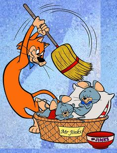 Pixie and Dixie and Mr. Jinks is a Hanna-Barbera cartoon that featured as a regular segment of the television series The Huckleberry Hound Show from 1958 to 1961.