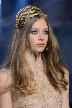 One of 25 Jaw-Dropping Accessories Fresh Off the Paris Couture Runways  - ELLE.com - ELIE SAAB (=)