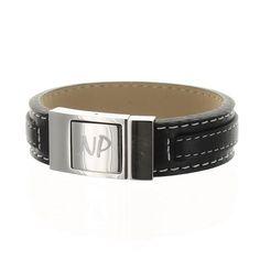 Pour un papa coquet, cette année à la fête des pères, je lui offre un bracelet en cuir et en acier gravé !