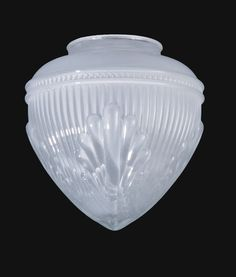 "6 1/2"" Inside Sandblasted Pendant Glass Shade"