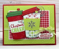 Stampin' Up! Merry Cafe-Cardiology by Jari