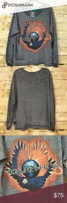 ✨NEW✨ Trunk LTD Journey Burnout Sweatshirt LG New with tag, Journey Trunk LTD Burnout sweatshirt, oversized fit, super soft, not too heavy, size Large! Trunk Ltd Tops Sweatshirts & Hoodies