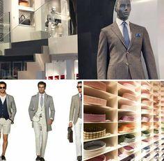Geurmarketing speelt tegenwoordig een steeds grotere rol in onder andere winkels. Diverse locaties van hét pakkenmerk SuitSupply verbeteren de complete in-store beleving door middel van geur! Breast, Suit Jacket, Suits, Jackets, Fashion, Down Jackets, Moda, Outfits, Fashion Styles