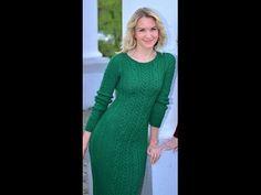 МК часть 3 по вязанию облегающего платья Марсала поднимаем петлю исправляе м ошибки - YouTube
