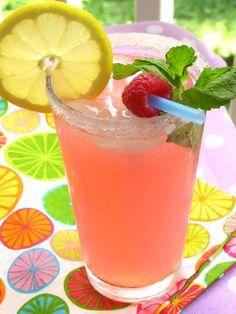 Secret Garden Recipe: Sparkling Raspberry Lemonade > Willow Bird Baking