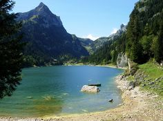 Lac Tanay in a mountain, right above le Bouveret (where i used to live) I wanna go back to see this!