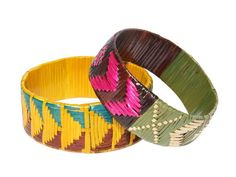 village woven bangles. please check out our new web shop.