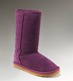 UGG Tall Classic 5815 Purple Boots - Oooh, I'd like to have these right now! Ugg Classic Tall, Classic Ugg Boots, Casual Boots, Ugg Boots Sale, Ugg Boots Cheap, Short Uggs, Short Boots, Tall Uggs, Tall Boots