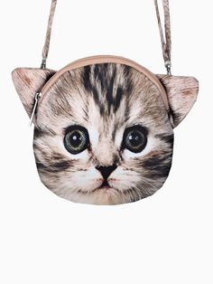 3D Double-Sided CAT Purse.