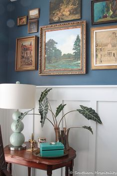 Our House Paint Colors - Southern Hospitality Peacock Living Room, Living Room Colors, Living Rooms, Painting Trim, House Painting, Caitlin Wilson Design, White Doves, Paint Colors For Home, Magnolia Homes
