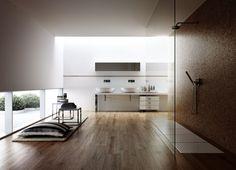 carrelage salle de bain imitation bois contemporaine