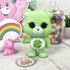 Clay Art, Funko Pop, Minnie Mouse, Disney Characters, Fictional Characters, Collection, Green, Figurine, Nostalgia