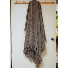 Lintex Kristalle Fringed Wool Throw