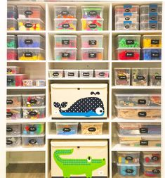 Categorized Contained And Labeled There S A Higher Probability To Keep Toy Closet Organized When