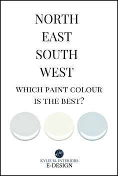 North, East, South, West – Which Paint Colour is the Best? (Kylie M. Best Wall Colors, Room Wall Colors, Best Paint Colors, Wall Paint Colors, Paint Colors For Home, House Colors, Best Interior Paint, Interior Paint Colors, Interior Plants