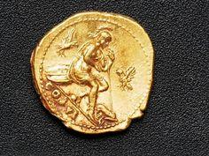 Moneta d'oro (1) ritrovata a #pompei