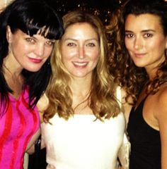sasha alexander / pauly perette / cote de Pablo - love all three of them from NCIS (Sasha moved to her own show though)