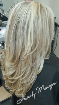 Blonde highlights and lowlights hairstyles long layers