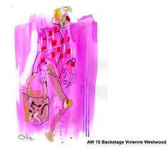 Sue Dray - Vivienne Westwood Fashion Illustrations, Vivienne Westwood, Tote Bag, Bags, Handbags, Carry Bag, Taschen, Purse, Purses